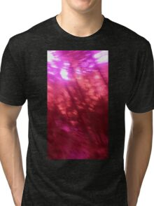 Back to the vivid forest n°12 Tri-blend T-Shirt