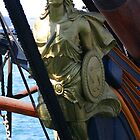 FIGUREHEAD HMS SURPRISE by fsmitchellphoto