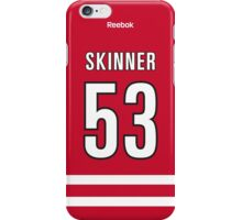 Carolina Hurricanes Jeff Skinner Jersey Back Phone Case iPhone Case/Skin