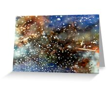 Celestial Storm Greeting Card