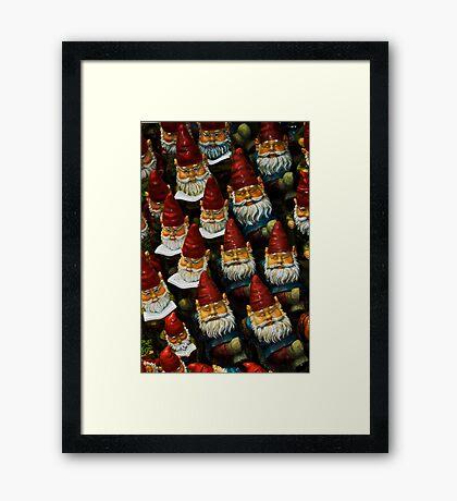 Gnomes Framed Print