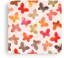 Butterfly Picnic Canvas Print