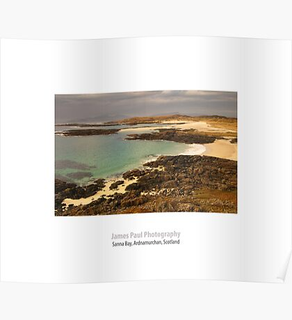 Sanna Bay, Ardnamurchan, Highland, Scotland Poster