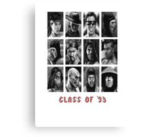 Class of '93 Canvas Print