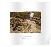 Falls of Falloch, Glen Falloch, Loch Lomond & The Trossachs, Scotland Poster