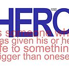 A Hero by jegustavsen