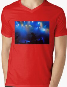 Music in Blue - Montreal Jazz Festival Mens V-Neck T-Shirt