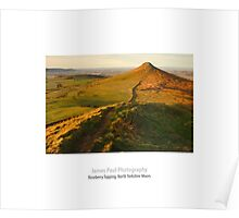Roseberry Topping from Little Roseberry, Great Ayton, North Yorkshire Moors Poster