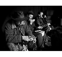 Lunch for four Photographic Print