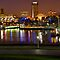 Long Beach, CA at Night by Ray Schiel
