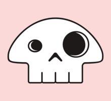Mushroom Skull One Piece - Short Sleeve