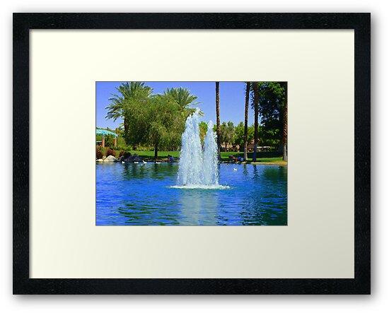 SATURDAY IN THE PARK by Sherri Palm Springs  Nicholas