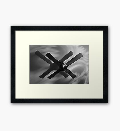 A fan of this. Framed Print