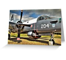 Vintage Fighter Aircraft - Lockheed Neptune Greeting Card