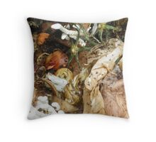 Compost Two © Throw Pillow