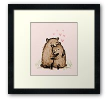 Bearlentines Framed Print