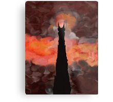The Tower of Sauron Metal Print