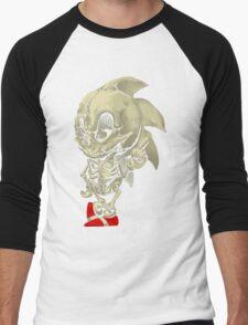 Hedgehog Skeletal System Men's Baseball ¾ T-Shirt
