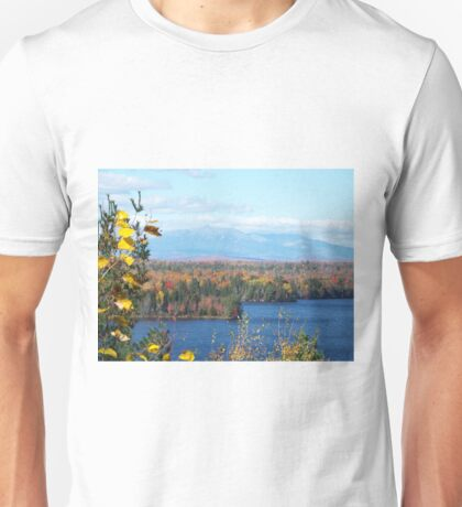 Mount Katahdin Fall 4 Unisex T-Shirt