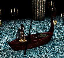 Christine on phantom's boat alone again by YodaWars