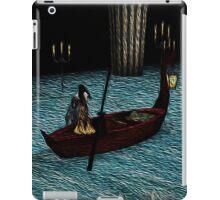 Christine on phantom's boat alone again iPad Case/Skin