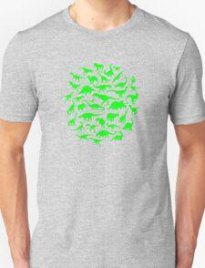 DINOSAURS - light green T-Shirt