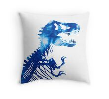 Tie-Dye Rex Throw Pillow