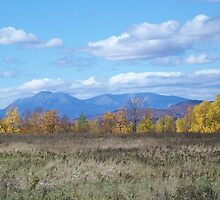 Mount Katahdin from Stacyville by MarquisImages