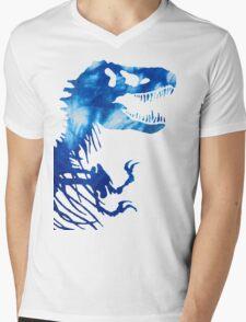 Tie-Dye Rex Mens V-Neck T-Shirt