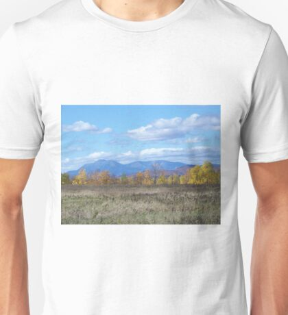 Mount Katahdin from Stacyville Unisex T-Shirt