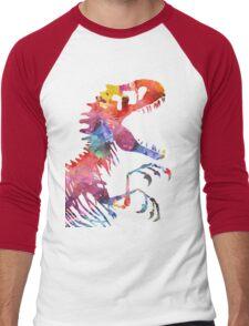Funkodominus Rex Men's Baseball ¾ T-Shirt