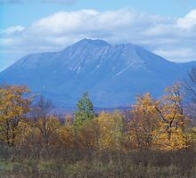 Mount Katahdin from Stacyville 2 by MarquisImages