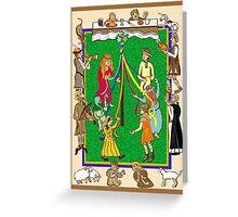 Medieval  feast  Greeting Card