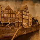 Harbour of Stade  by pahit