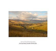 Dent Head Viaduct, Dentdale, Yorkshire Dales by James Paul