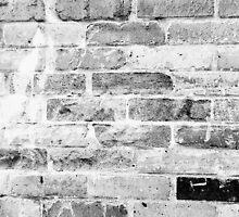 black and white brick wall by jessicawhitaker