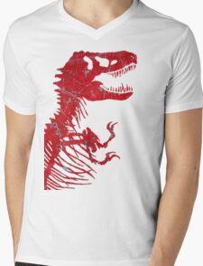 Rusty Rex Mens V-Neck T-Shirt