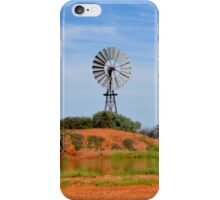 Outback Windmill (after rain) iPhone Case/Skin