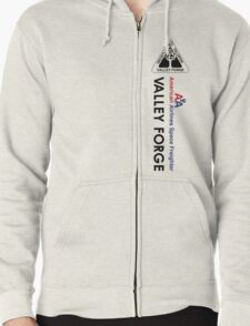Valley Forge Zipped Hoodie