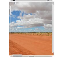 Red Dusty Outback Road iPad Case/Skin