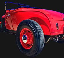RED RAD ROADSTER by Robert Beck