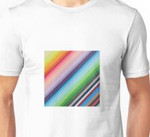 Stack Of Colored Papers Unisex T-Shirt