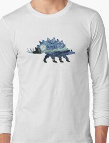 VanGogh-o-Saurus Long Sleeve T-Shirt