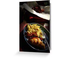 Breakfast Feast Greeting Card