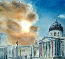 The National Gallery, London. by Colin Cartwright