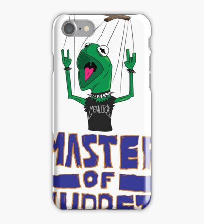Master Of Muppets iPhone Case/Skin