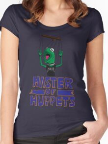Master Of Muppets Women's Fitted Scoop T-Shirt