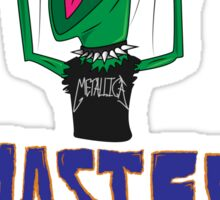 Master Of Muppets Sticker