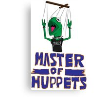Master Of Muppets Canvas Print