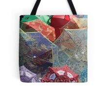 China - silk parasols in the market Tote Bag